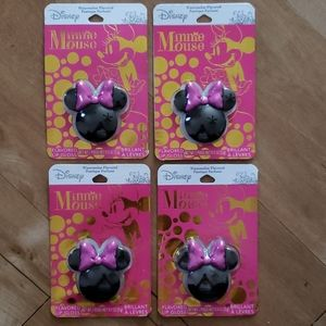 4 NWT SEALED  Disney Minnie Mouse Lip Gloss